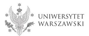 uniwersytet warszawski logo